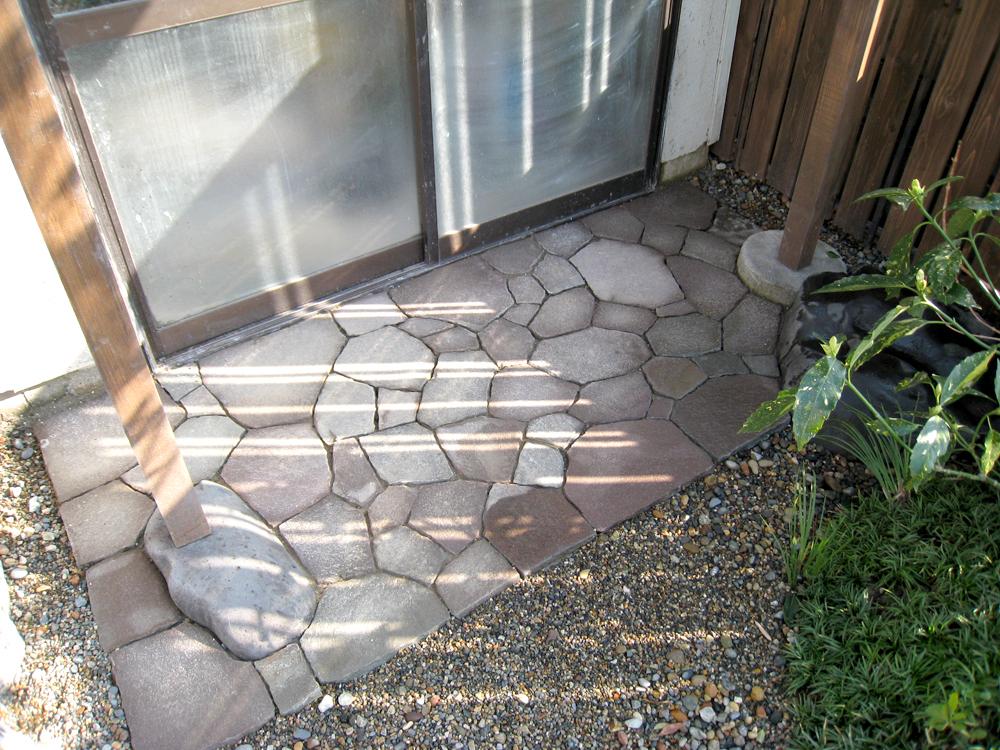 自宅の庭2 12b_works7_11