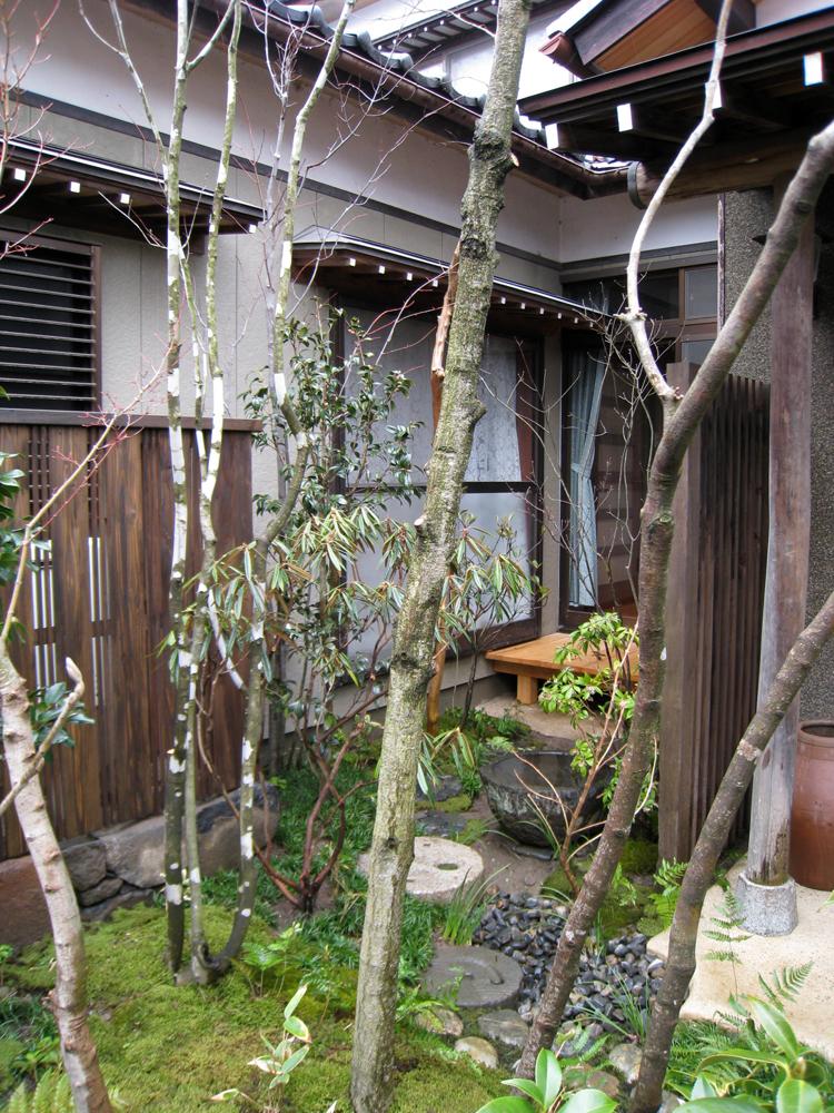 自宅の庭1 12b_works8_12